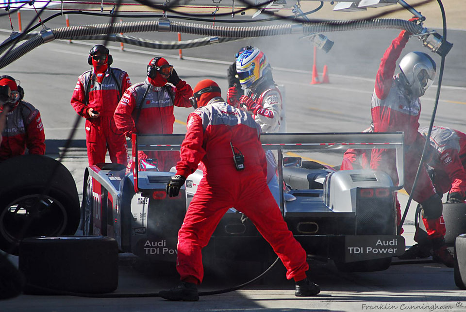 Under-pressure-at-Audi-Pit Car Photos For Sale